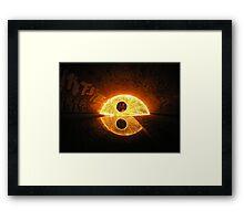 Fire in da hole Framed Print