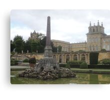 Blenheims Towers Canvas Print