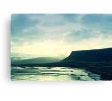 The Mystical Coastline of Iceland Canvas Print