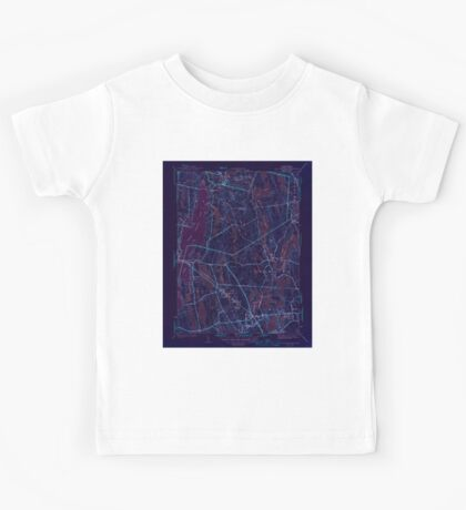 Massachusetts  USGS Historical Topo Map MA Fall River East 351685 1944 31680 Inverted Kids Tee