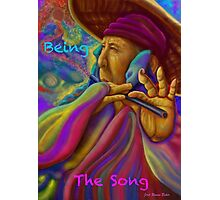 ''Being the song'' Photographic Print