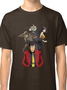 lupin the 3rd third fujiko jigen goemon inspector zenigata anime manga shirt Classic T-Shirt