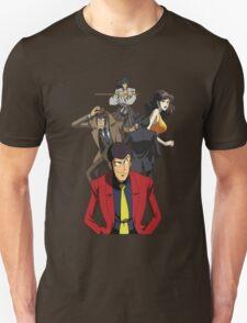 lupin the 3rd third fujiko jigen goemon inspector zenigata anime manga shirt T-Shirt