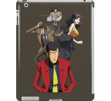 lupin the 3rd third fujiko jigen goemon inspector zenigata anime manga shirt iPad Case/Skin