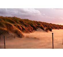 Windy Dutch Beach Photographic Print