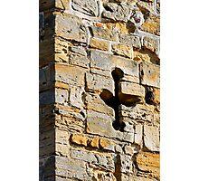 Archers window, Battle Abbey, Sussex, UK Photographic Print