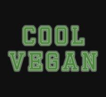 Cool Vegan T-Shirt by deanworld