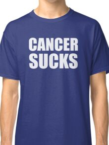 Cancer Sucks Classic T-Shirt