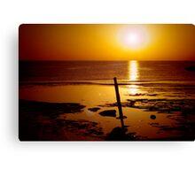 Red Sea Sunrise Canvas Print