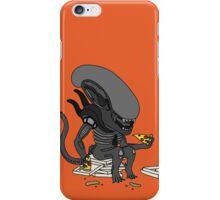Alien? Pizza? iPhone Case/Skin