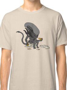 Alien? Pizza? Classic T-Shirt