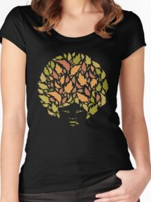 Autumn Hair Women's Fitted Scoop T-Shirt