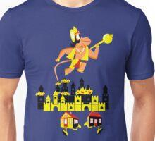 HANUMAN BURNING LANKA Unisex T-Shirt