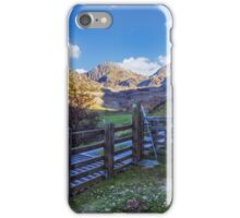 The Road to Tryfan iPhone Case/Skin