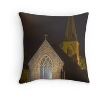 St Johns Church Throw Pillow
