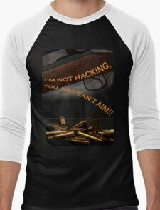 Deceptively, Inaccurately and Fatally Undeadly  Men's Baseball ¾ T-Shirt