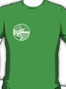 Graphic Circles. T-Shirt