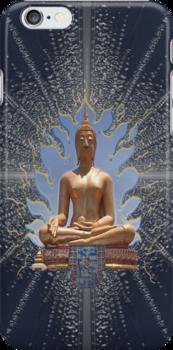 Buddha Statue - Enhanced  by DAdeSimone