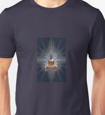 Buddha Statue - Enhanced  Unisex T-Shirt