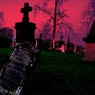 Cemetary in Ohio by Phil Campus