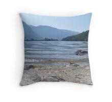 Clear Waters of Olu Deniz Throw Pillow