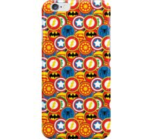 Cute Superhero Logo Pattern iPhone Case/Skin