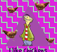 Ed Edd n Eddy chicken by 121sasusaku