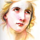 Study after W.bouguereau by Lubna