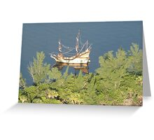 Pirates of the Indian River Lagoon Greeting Card