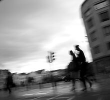 Rush Hour Brussels by Mark Chevalier