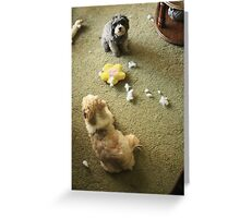 Who Done it?? Greeting Card