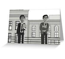 Paperman Coliver Greeting Card