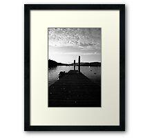 The Jetty Framed Print