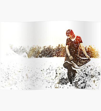 Dancing in the sprinklers Poster