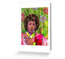 Jimmy Hendrix Greeting Card