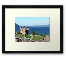 Monster View Framed Print