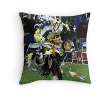 little fancy dancer Throw Pillow