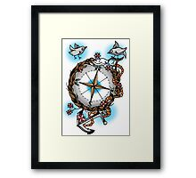 Nature's compass  Framed Print
