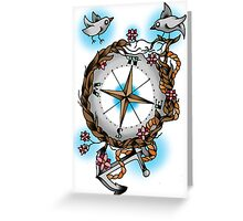 Nature's compass  Greeting Card