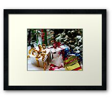For me? You shouldnt have. Framed Print