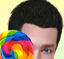 Chris Colfer Sticker