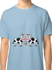 Two cows and a rooster Classic T-Shirt