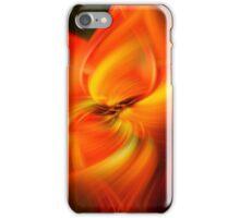 Flower of fire iPhone Case/Skin