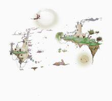 Flying Islands by Weird