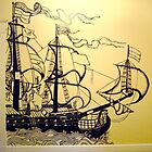 Ship Mural by Claire Robinson
