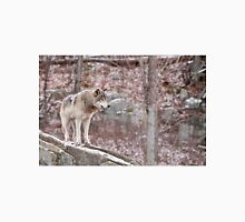 Timber Wolf on Outcropping Unisex T-Shirt