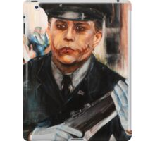 Joker's Police Officer Disguise  iPad Case/Skin
