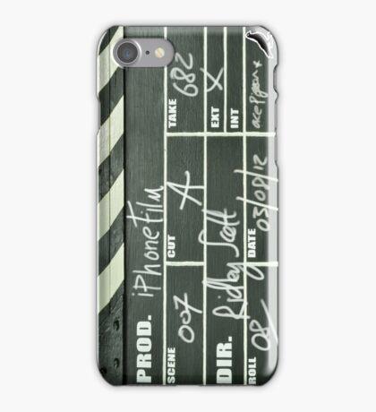 Clapper board 01 iPhone Case/Skin