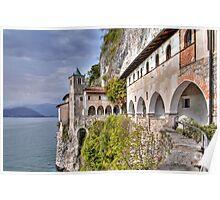 Hermitage S. Caterina del Sasso Poster