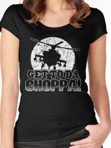 Get to da Choppa Women's Fitted Scoop T-Shirt